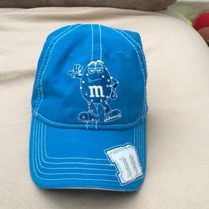 Accessories - Authentic blue M&M hat